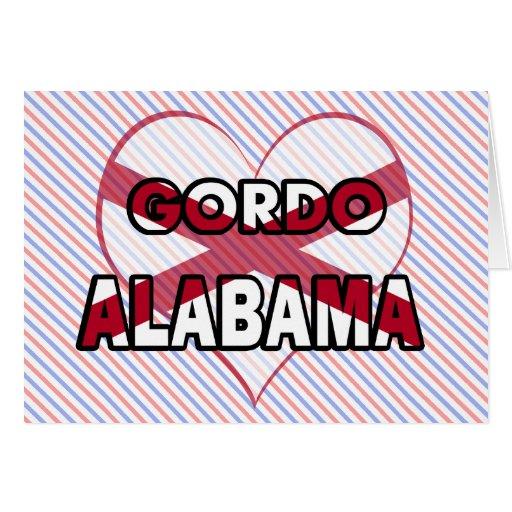 Gordo, Alabama Felicitacion