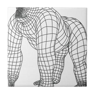 gorila azulejo de cerámica