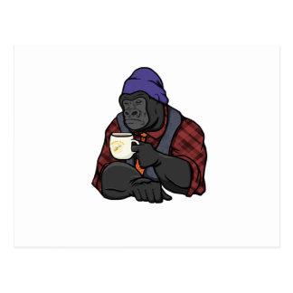 Gorila del inconformista postal