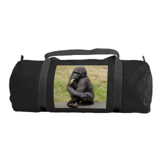 gorila joven bolsa de deporte