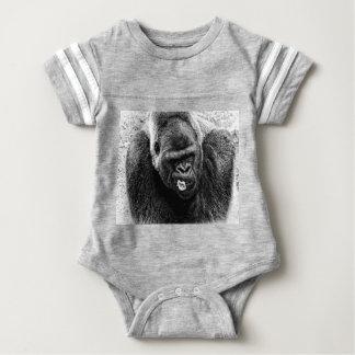 Gorila masculino del Silverback de la tierra baja, Camiseta