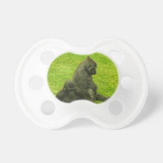 Gorilas de África, primates, fotografía Chupetes Para Bebes