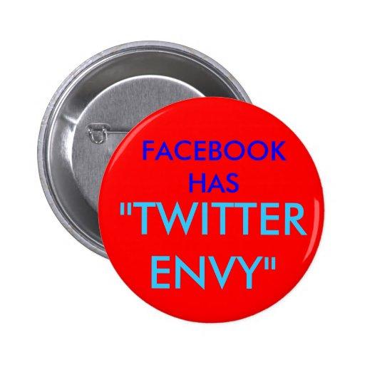 Gorjeo de la envidia de Facebook Pin