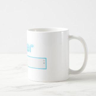 """Gorjeo de """"té consumición """" tazas"""