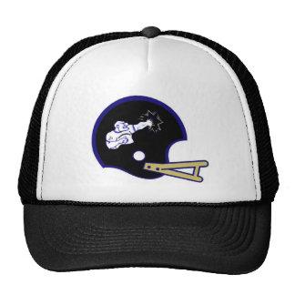 Gorra 2009 del casco de la escuela vieja de Bruise
