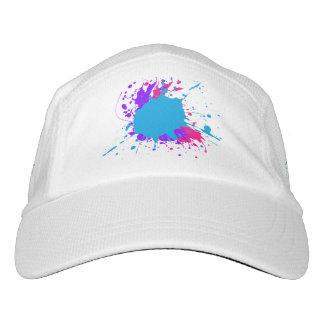 Gorra abstracto de la salpicadura de la pintura gorra de alto rendimiento