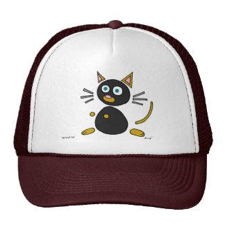 Gorra abstracto del gato