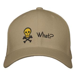 Gorra adaptable del cráneo y del bordado de la ban gorra de béisbol