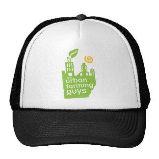 Gorra agrícola urbano de los individuos
