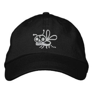 Gorra ajustable de la polilla de la muerte de gorra de beisbol