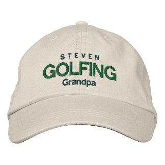 Gorra ajustable personalizado ABUELO GOLFING V04A