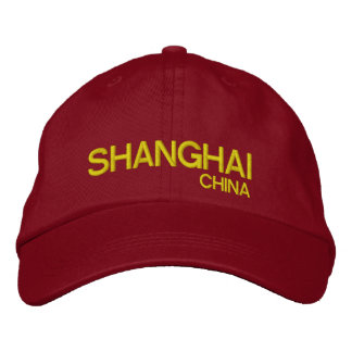 Gorra ajustable personalizado China de Shangai Gorra De Beisbol Bordada