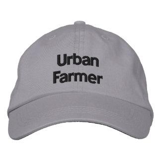 Gorra ajustable personalizado granjero urbano gorra de béisbol bordada