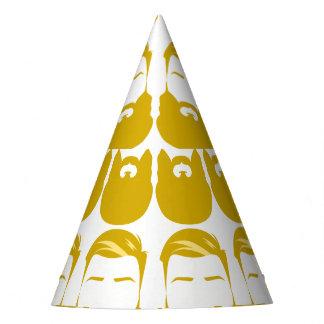 Gorra amarillo múltiple del fiesta de las barbas