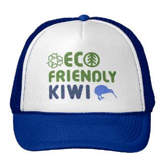 Gorra amistoso de Nueva Zelanda del kiwi de Eco