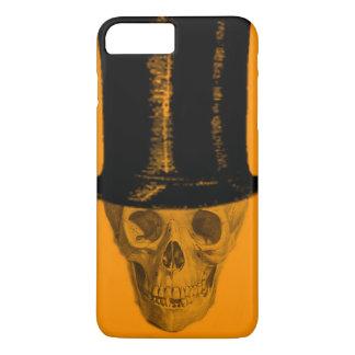 Gorra anaranjado del tubo de la estufa del funda iPhone 7 plus