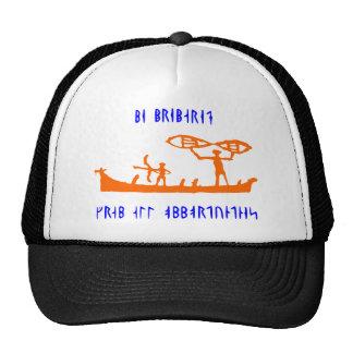 Gorra anaranjado rúnico de Viking