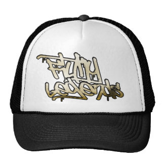 Gorra asqueroso del logotipo