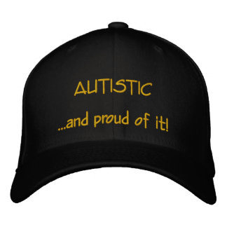 Gorra autístico y orgulloso
