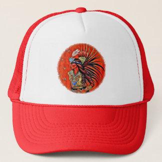 Gorra azteca del camionero del bailarín del pájaro