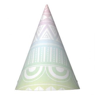 Gorra azteca del fiesta del diseño del arco iris