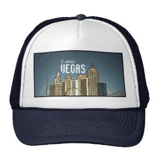 Gorra azul artsy de la opinión del hotel de Las Ve