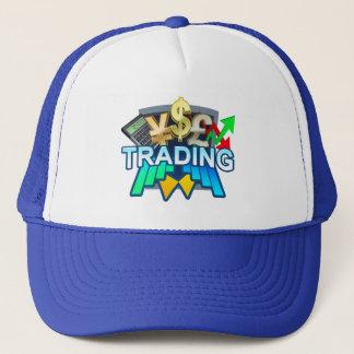 Gorra azul comercial del camionero