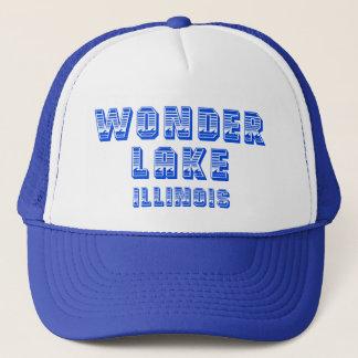 Gorra azul del camionero de la línea de flotación