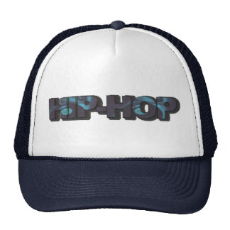 Gorra azul del hip-hop
