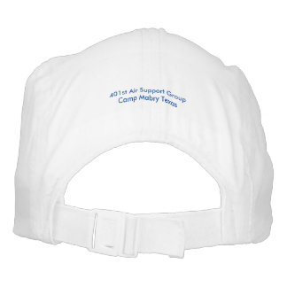 Gorra azul del logotipo de la vigilancia aérea de