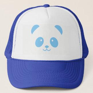 Gorra azul lindo y mimoso del camionero de la