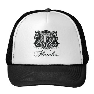 GORRA BLANCO Y NEGRO SIN DEFECTOS