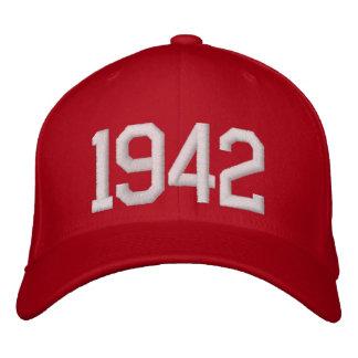 Gorra Bordada 1942 años