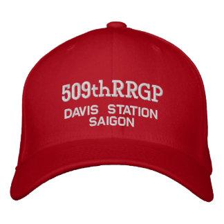 Gorra Bordada 509o RRGP, estación de Davis