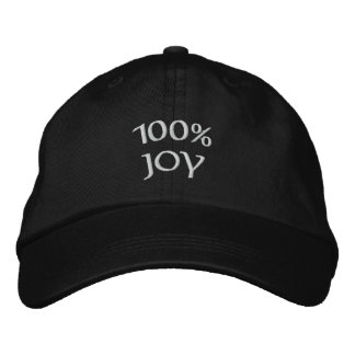 Gorra Bordada alegría 100%