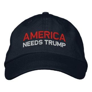 Gorra Bordada América necesita el triunfo