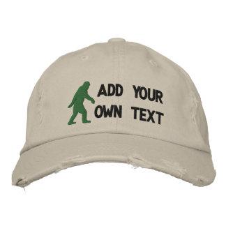 Gorra Bordada Añada su propio texto, logotipo de Bigfoot