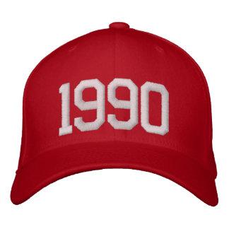 Gorra Bordada Año 1990