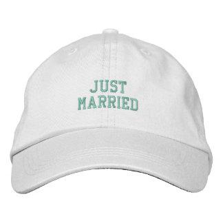 Gorra Bordada ¡Apenas casado!