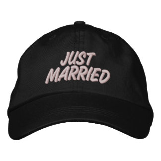 Gorra Bordada Apenas casado