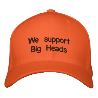 Gorra Bordada Apoyamos las cabezas grandes