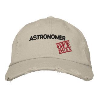 Gorra Bordada Astrónomo fuera de servicio