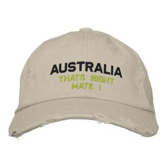 Gorra Bordada Australia