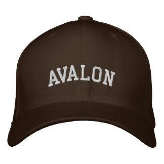 Gorra Bordada Avalon