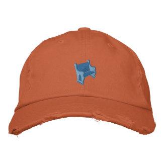 Gorra Bordada Banco azul Hat2