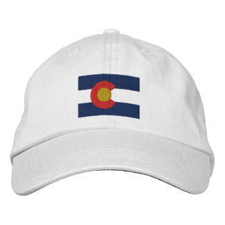 Gorra Bordada Bandera de Colorado
