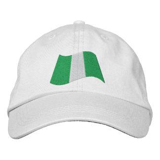 Gorra Bordada Bandera de Nigeria