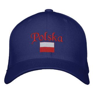 Gorra Bordada Bandera de Polonia