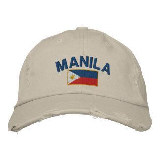 Gorra Bordada Bandera Manila de Filipinas