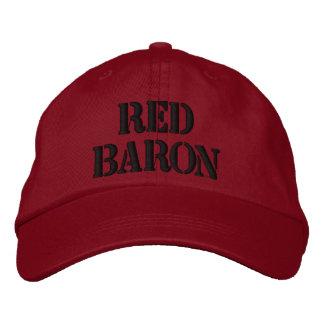 Gorra Bordada Barón rojo Hat